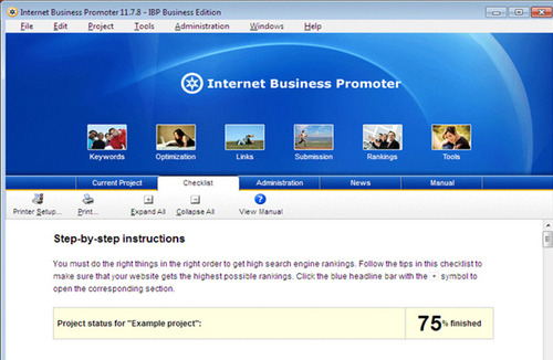 Product picture Internet Business Promoter (IBP)