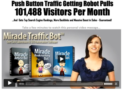 Product picture Miracle Traffic Bot - Free Traffic Generation Software Suite