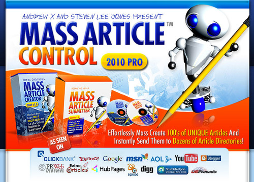 Product picture Mass Article Creator Software FULL